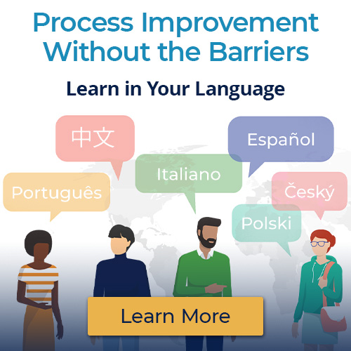 Process Improvement Without the Barriers: Learn in Your Language