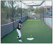Batting cage for practice