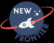 new frontier spaceship logo